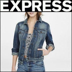 EXPRESS Precision Fit Denim Jean Jacket!